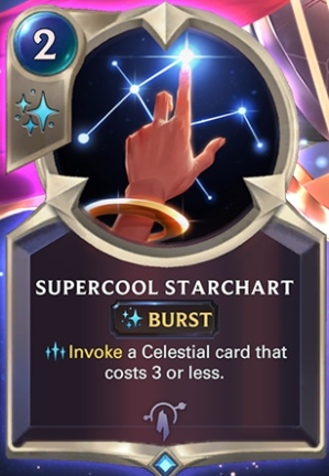 Supercool Starchart (LoR Card Reveal)