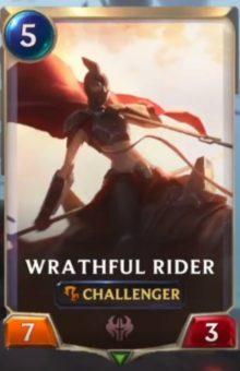 Wrathful Rider (LoR reveal)