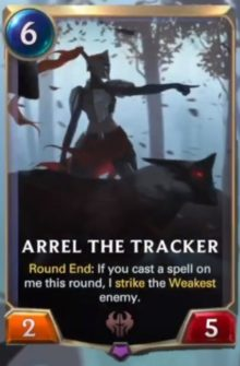 Areel the Tracker (LoR reveal)