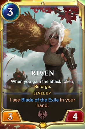 Riven level 1 (LoR Card Reveal)