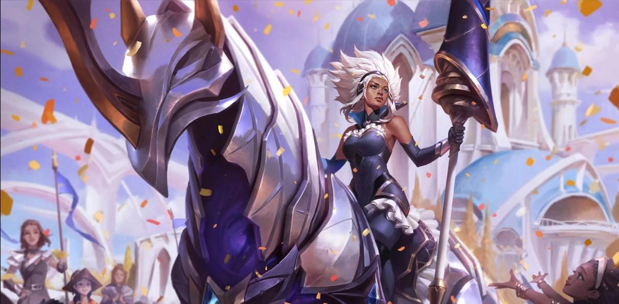 Rell Battle Queen (LoL splash)