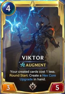 Viktor level 2 (LoR Card Reveal)