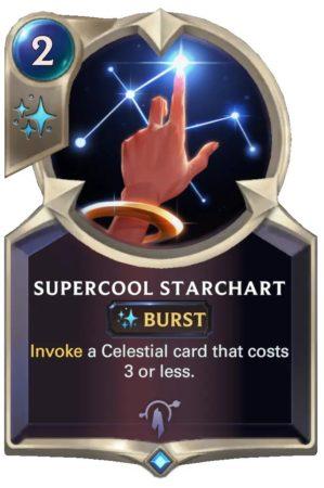 Supercool Starchart (LoR Card)