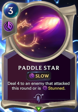 Paddle Star (LoR Card Reveal)