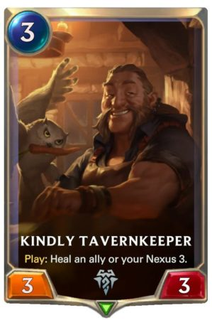 Kindly Tavernkeeper (LoR Card)