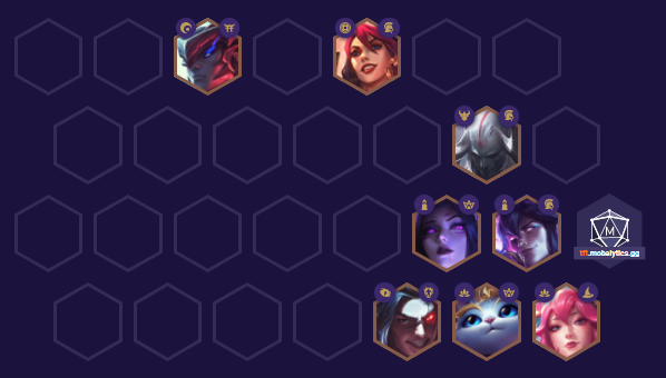 TFT Ahri Comp Positioning
