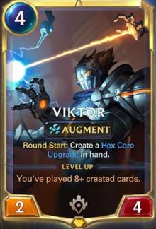 Viktor level 1 (LoR Card Reveal)