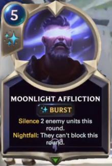 Moonlight Affliction (LoR Card Reveal)