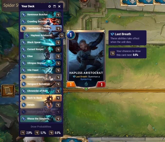 LoR Deck Overlay screenshot