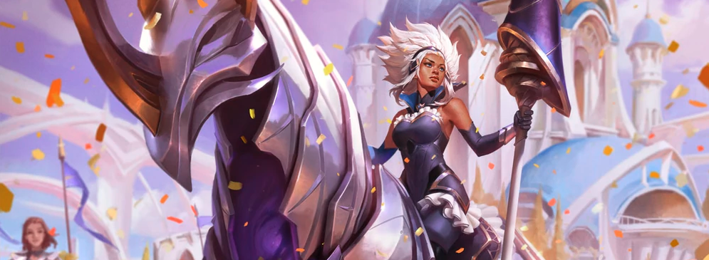 Battle Queen Rell (LoL splash)