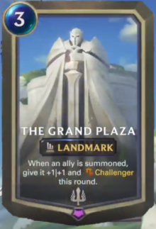 The Grand Plaza (LoR Card Reveal)
