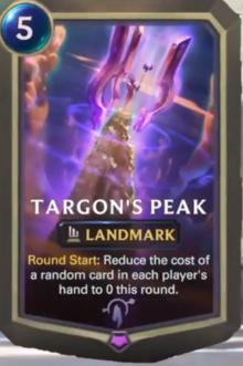Targon's Peak (LoR Card Reveal)