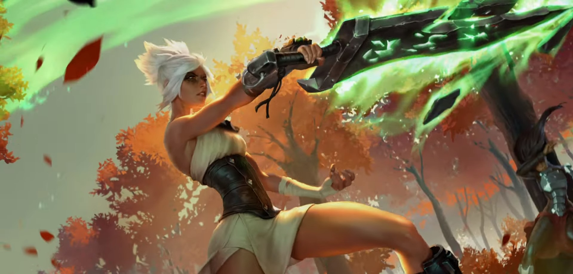 Cosmic Creation LoR Card Impressions: Riven (Sharpened Resolve, Survival Skills, and More)
