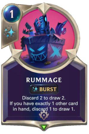 Rummage (LoR Card)