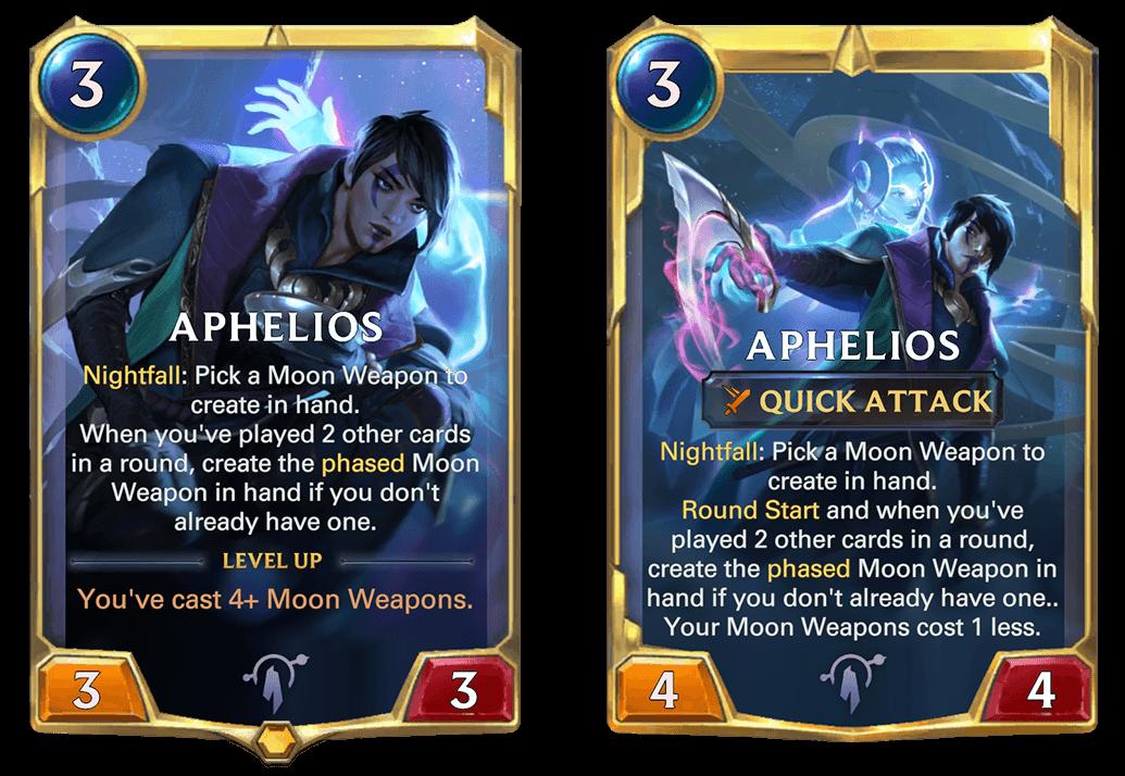 Aphelios (LoR Card Reveal)