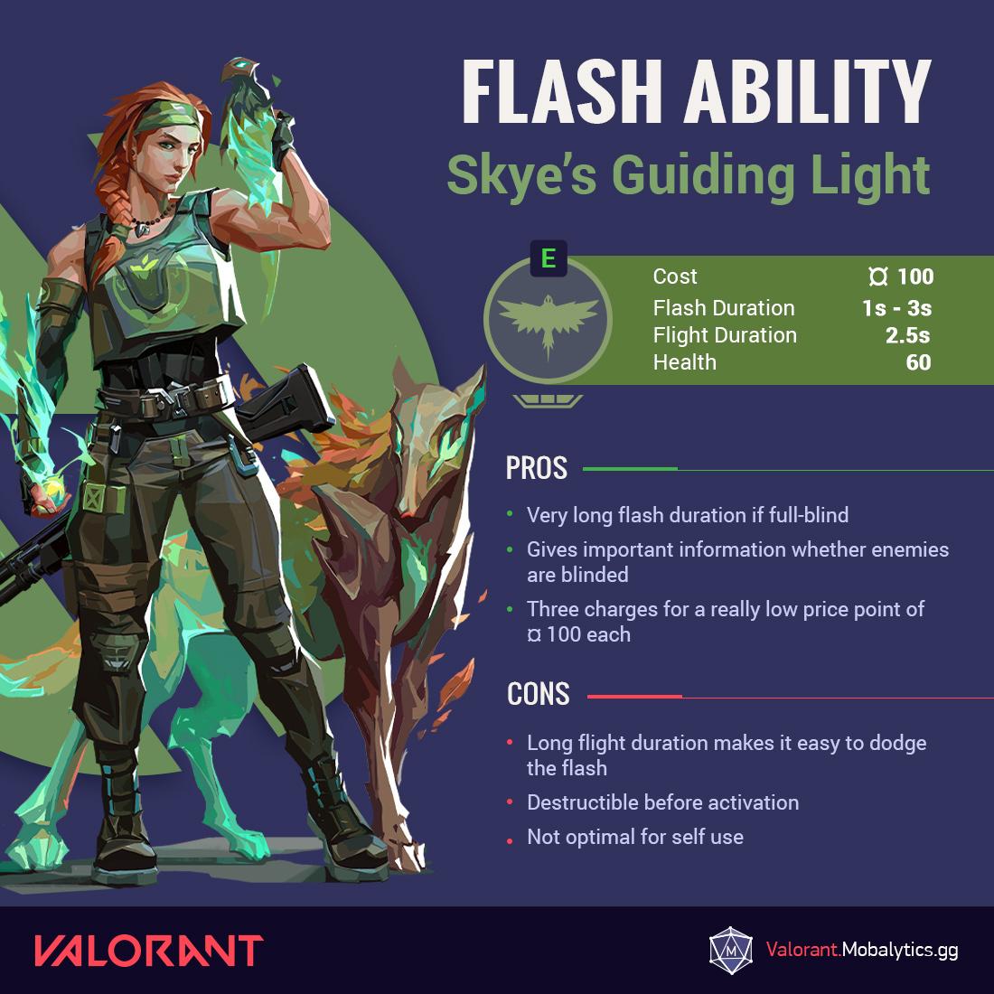 Skye Flash Graphic