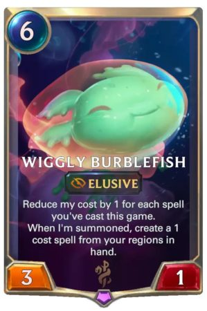 Wiggly Burblefish (LoR Card)
