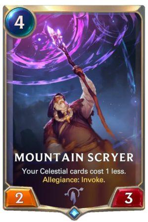 Mountain Scryer (LoR Card)