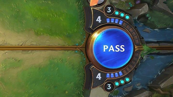 Mana pass (LoR screenshot)