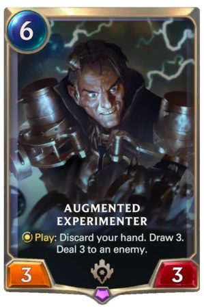 Augmented Experimenter (LoR Card)
