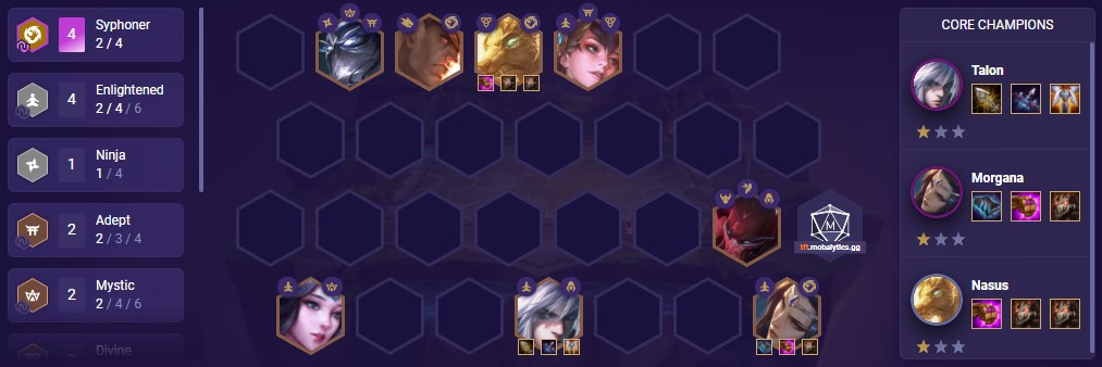 Soul Syphoner (TFT comp patch 11.2)