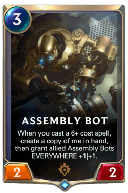 Assembly Bot (LoR Old Card)