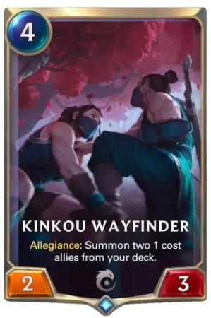 Kinkou Wayfinder (LoR Card)