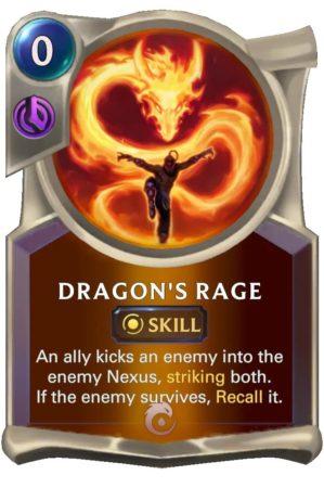 Dragon's Rage (LoR Card)