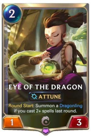 Eye of the Dragon (LoR Card)
