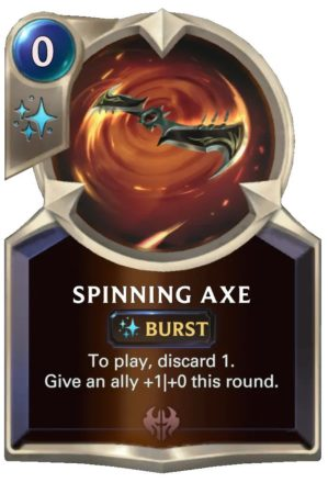 Spinning Axe (LoR Card)