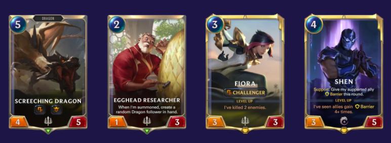 Fiora Shen vs Midrange (LoR Mulligan)