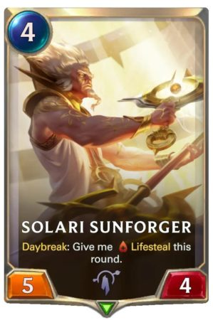 Solari Sunforger (LoR Card)