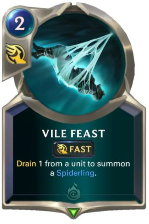 Vile Feast (LoR Card)