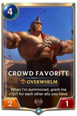 Crowd Favorite (LoR Card)