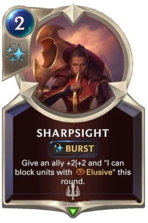 Sharpsight (LoR Card)