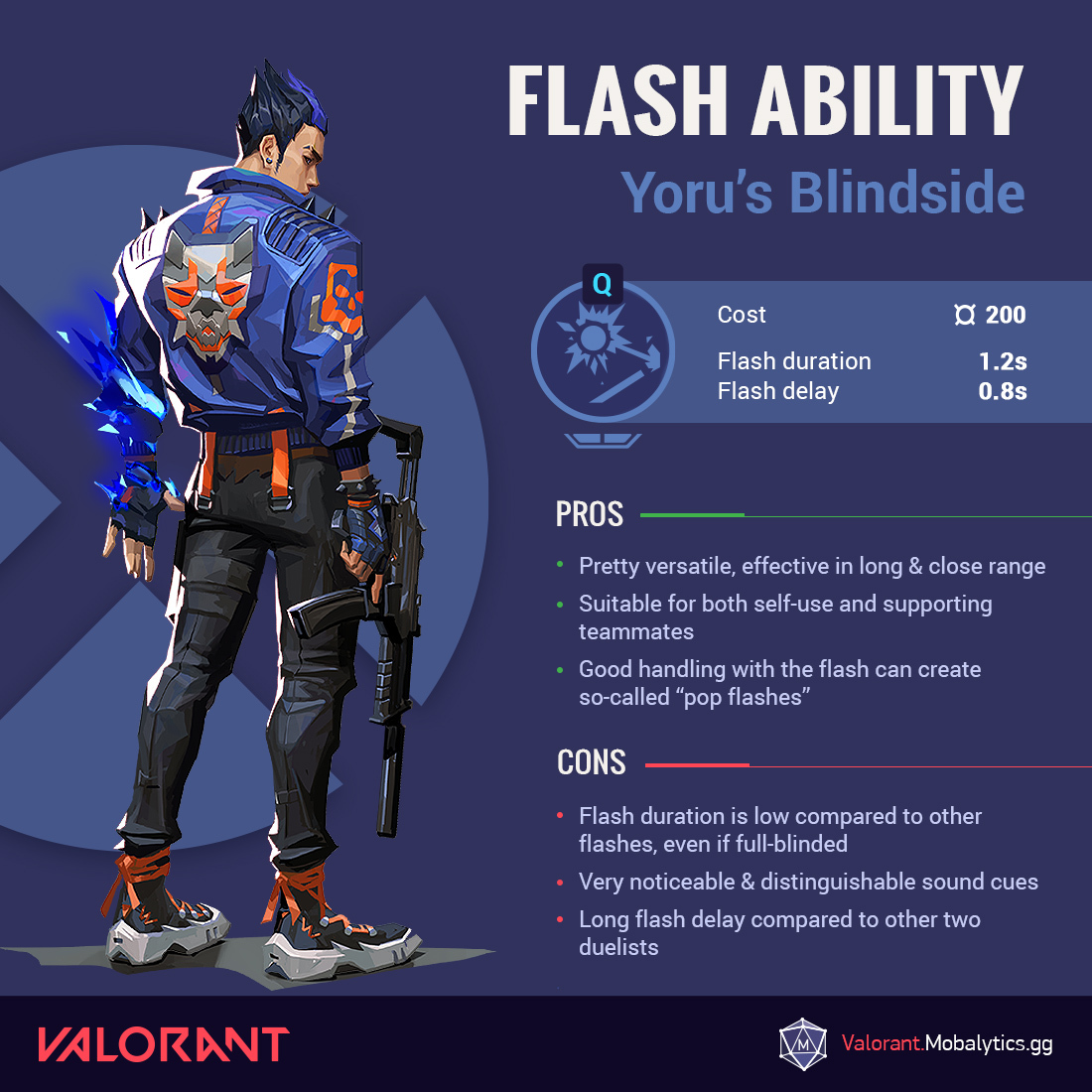 Yoru Flash Infographic