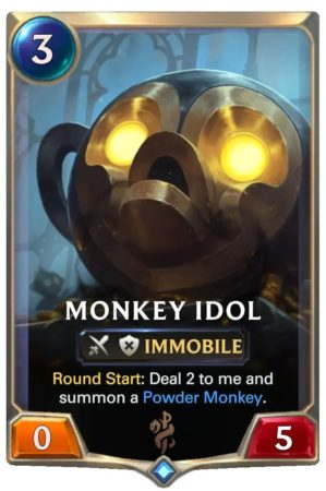 Monkey Idol (LoR Card)