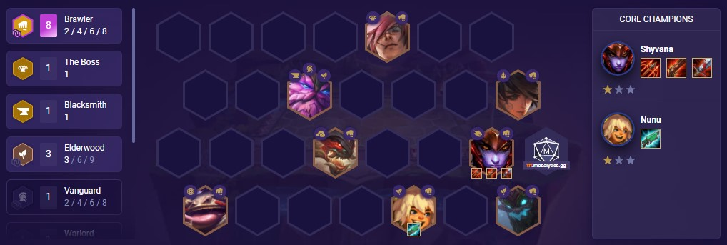8 Brawlers (TFT comp patch 11.2)