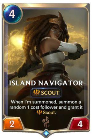 Island Navigator (LoR Card)