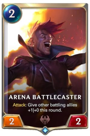 Arena Battlecaster (LoR Card)