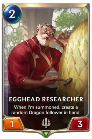 Egghead Researcher (LoR Card)