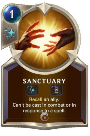 Sanctuary (LoR Card)