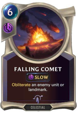 Falling Comet (LoR Card)