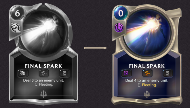 FInal Spark Comparison (LoR Card)
