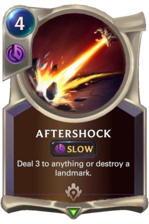 Aftershock (LoR Card)