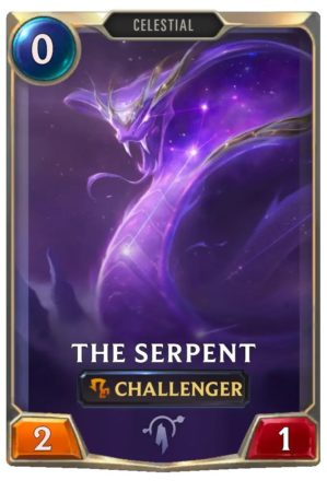 The Serpent (LoR Card)