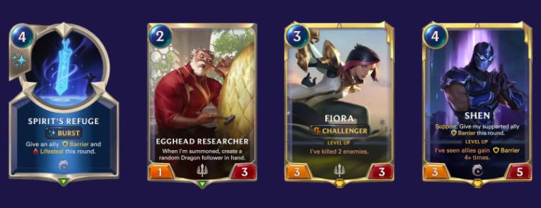 Fiora Shen vs Aggro (LoR Mulligan)