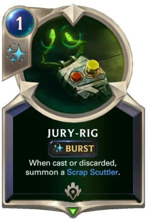 Jury-Rig (LoR Card)