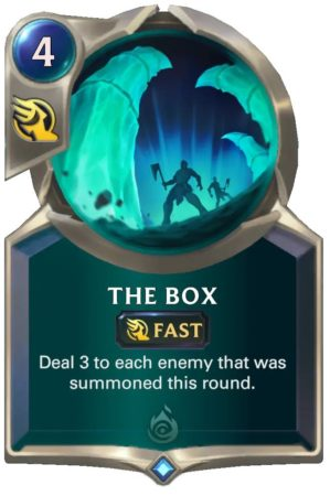 The Box (LoR Card)