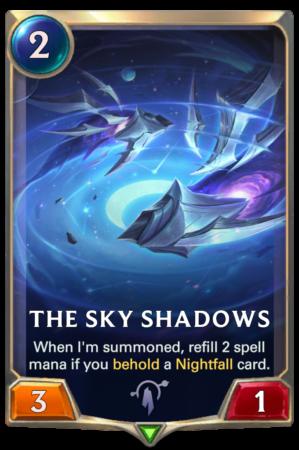 The Sky Shadows (LoR card)